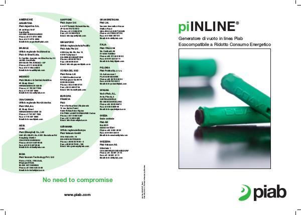 Piabs magazines, Italian piINLINE®