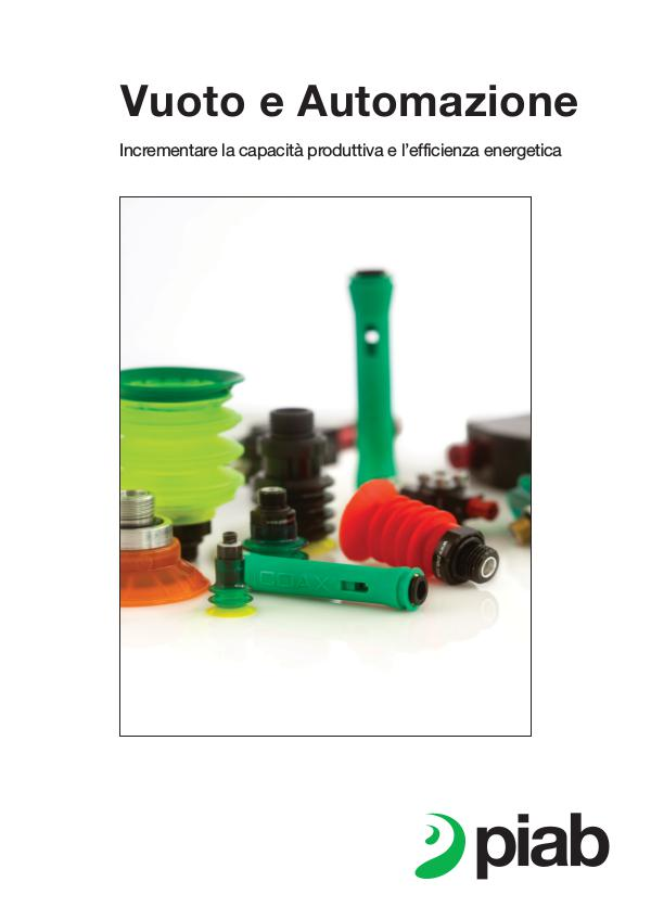 Piabs magazines, Italian Automation Brochure