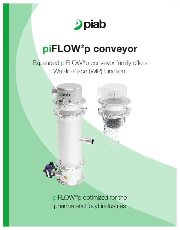 Wet in Place for the piFLOW ®p family