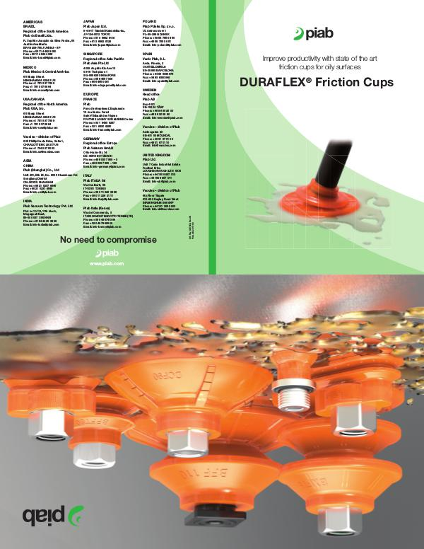 Piabs magazines, US- Eng (Imperial) Friction Cups Poster