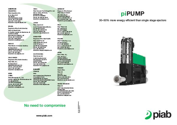 Piabs magazines, US- Eng (Imperial) piPUMP 10X