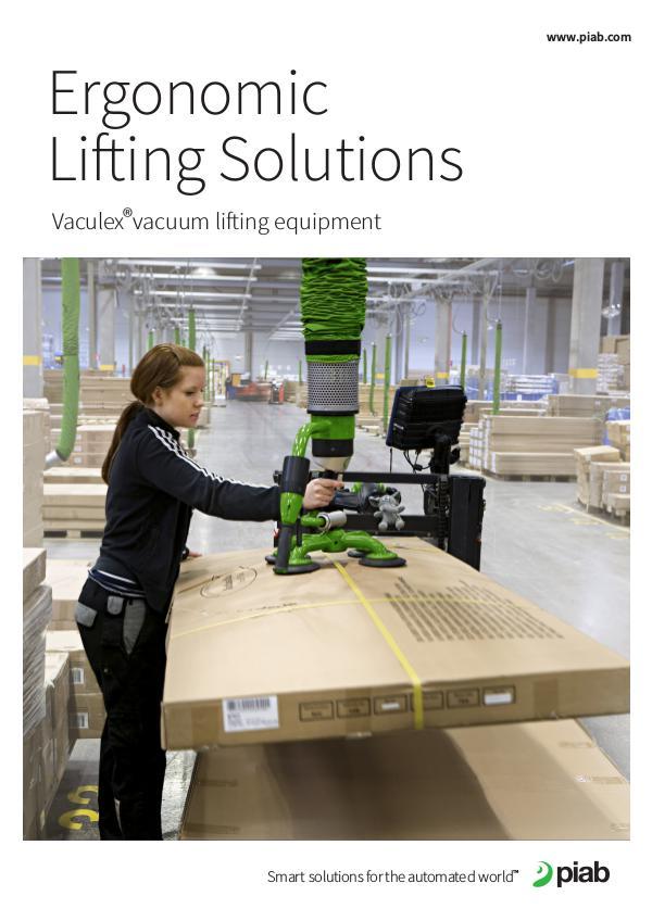 Piab's magazines, Eng (Metric) Ergonomic Lifting Solutions
