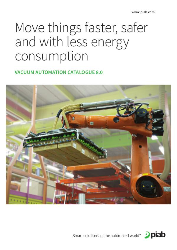 Piab's magazines, Eng (Metric) Vacuum Automation Catalogue 8.0 (metric)