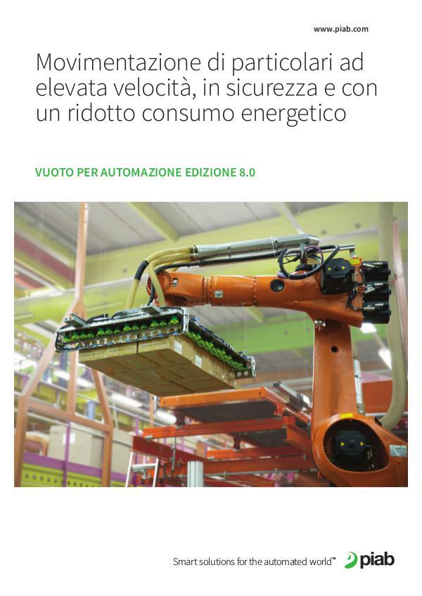 Piabs magazines, Italian Vuoto Per Automazione Edizione 8.0