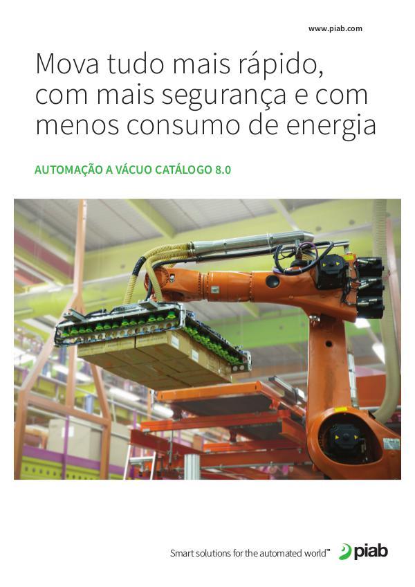 Piabs magazines, Portuguese Automação A Vácuo Catálogo 8.0