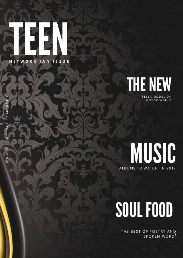 Teen Network Magazine january issue