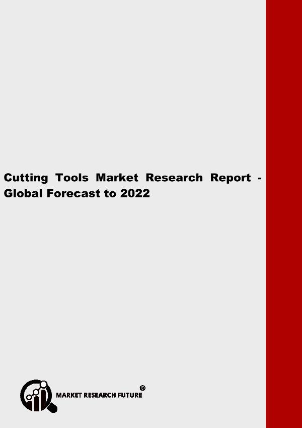 Asia Pacific Blood Glucose Test Strip Packaging Market Research Repor Cutting Tools Market Research Report - Global Fore