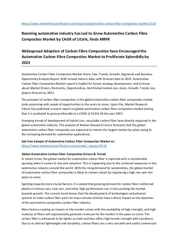 Asia Pacific Blood Glucose Test Strip Packaging Market Research Repor Automotive carbon fiber composites market-_25.03_A