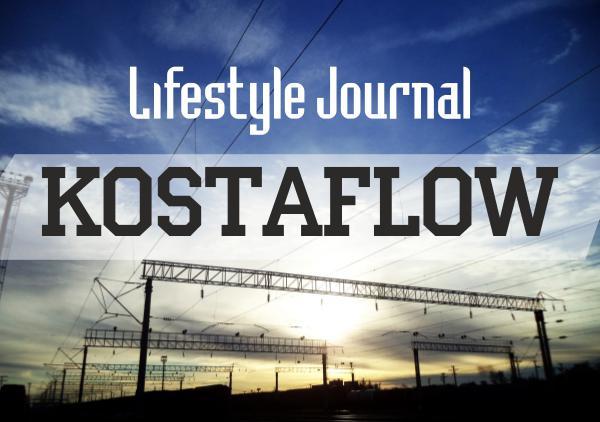 KOSTAFLOW Lifestyle Journal KOSTAFLOW LifeStyle journal #1