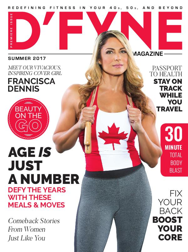 D'FYNE Fitness Magazine Summer 2017