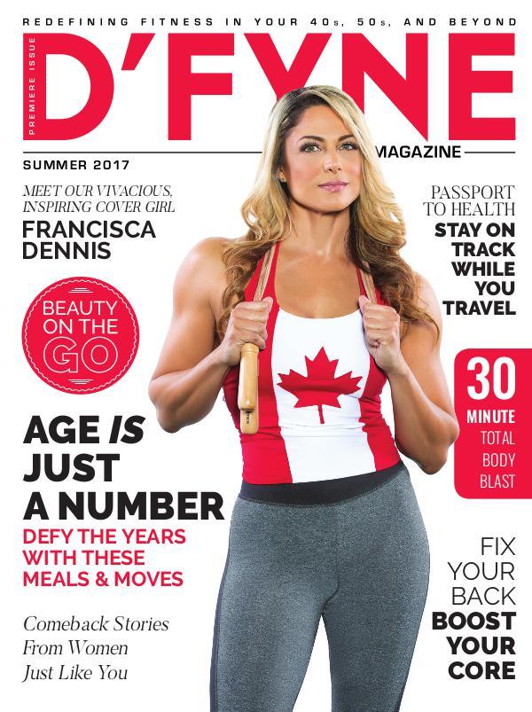 D'FYNE Fitness Magazine Summer 2017
