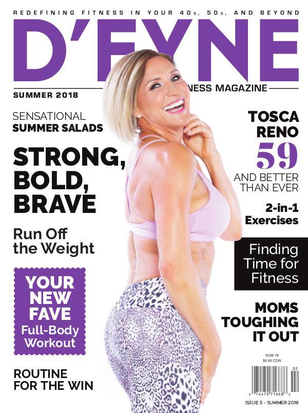 D'FYNE Fitness Magazine Summer 2018