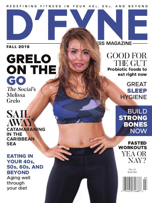 D'FYNE Fitness Magazine Fall 2019