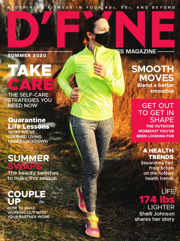 D'FYNE Fitness Magazine Summer 2020