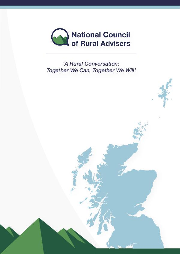 National Council of Rural Advisers NCRA Report 2018