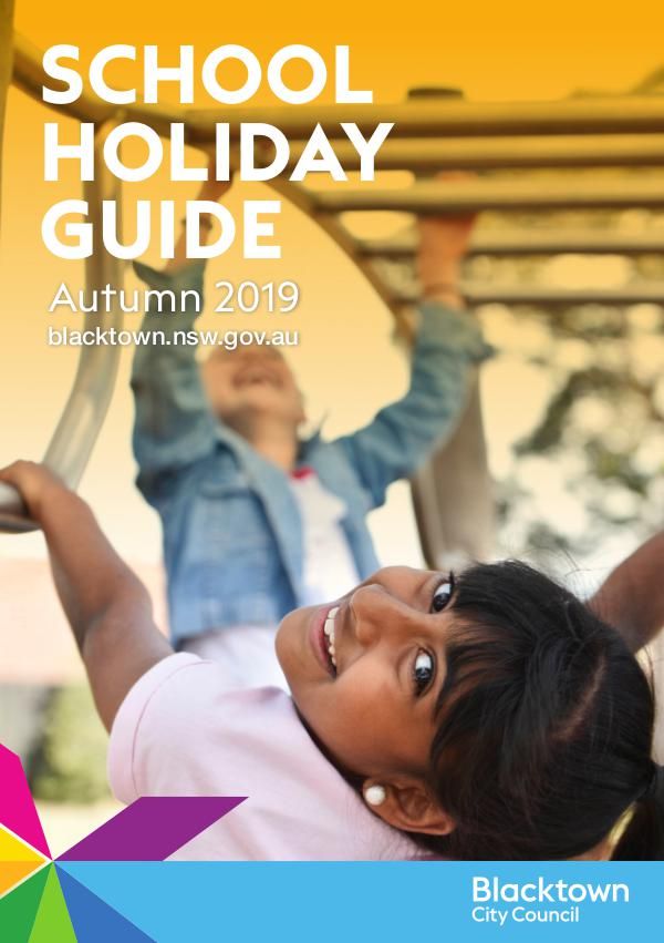 School Holiday Guide Autumn 2019