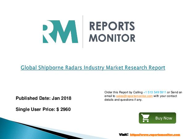 Global Shipborne Radars Industry Market Research Report new Global Shipborne Radars Industry Market Resear