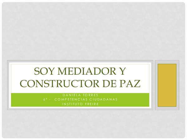 Mediadora de Conflicto Ambiental proyecto final mediador