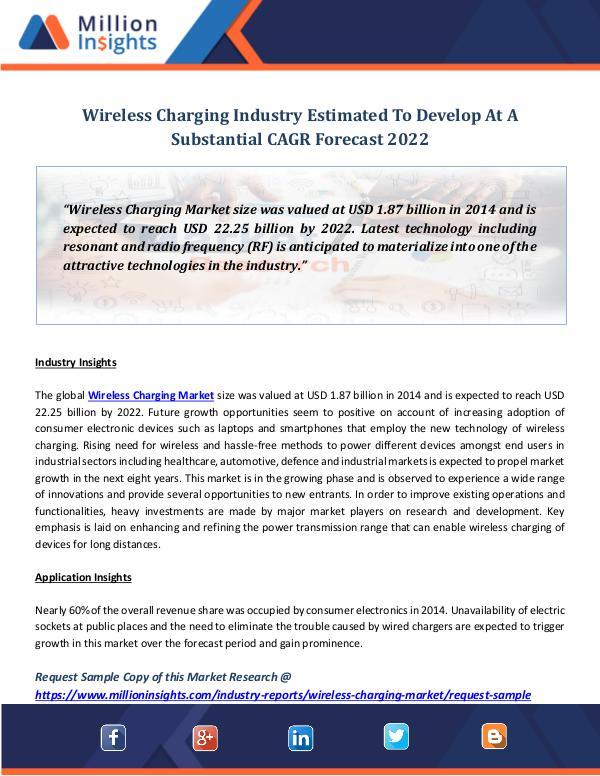 Wireless Charging Industry Revenue