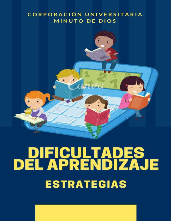 Cartilla sobre dificultades de aprendizaje CARTILLA DIFICULTADES DE APRENDIZAJE