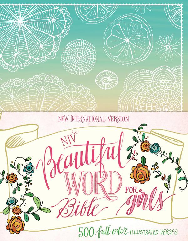 Beautiful Word Bible for Girls Floral