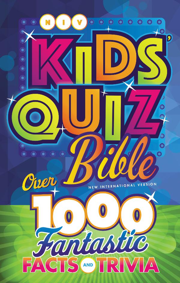 NIV Kids' Quiz Bible NIV Kids Quiz_sampler pages