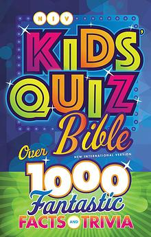 NIV Kids' Quiz Bible