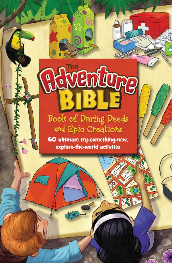 Adventure Bible Book of Daring Deeds and Epic Creations sampler