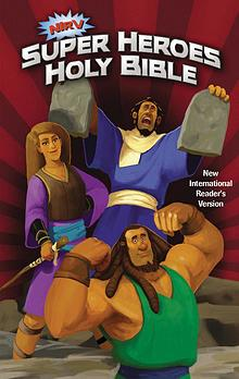 NIrV Super Heroes Holy Bible