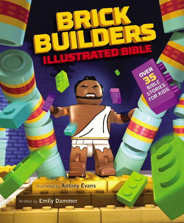 Brick Builders Illustrated Bible 9780310754374_sampler