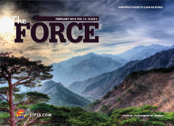The Force Magazine, Osan AB 51FSS_Magazine_Feb19_Web