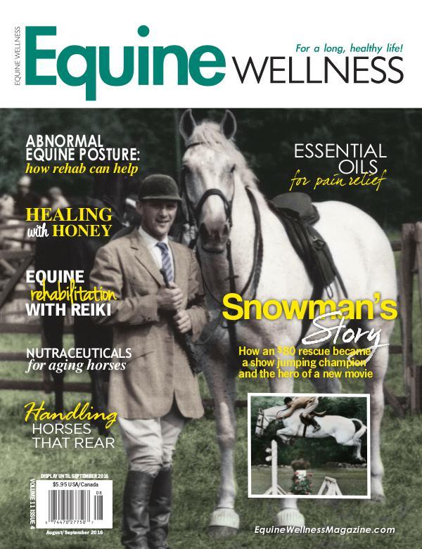 Equine Wellness Magazine Aug/Sept 2016