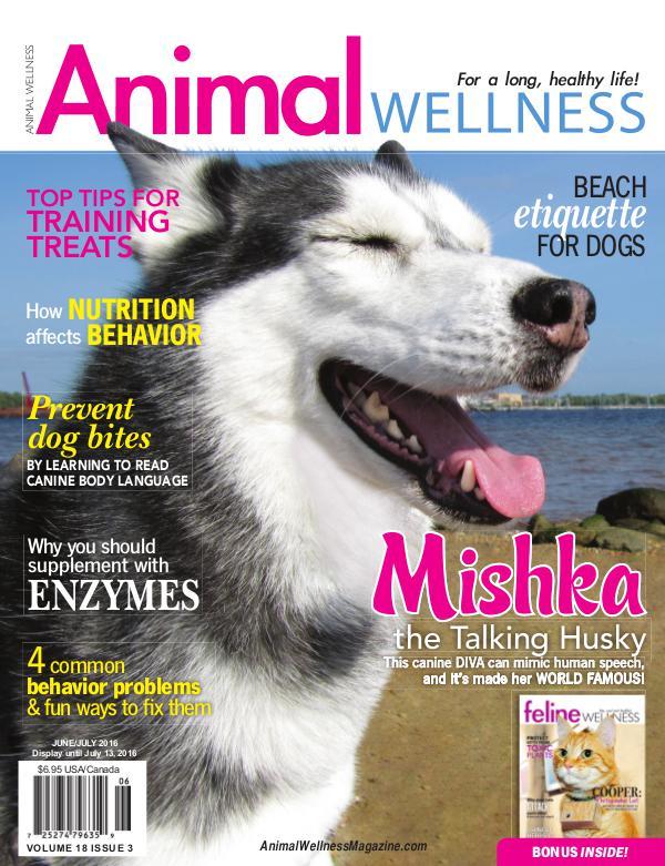 Animal Wellness Magazine Jun/July 2016