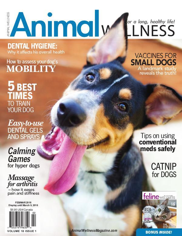 Animal Wellness Magazine Feb/Mar 2016