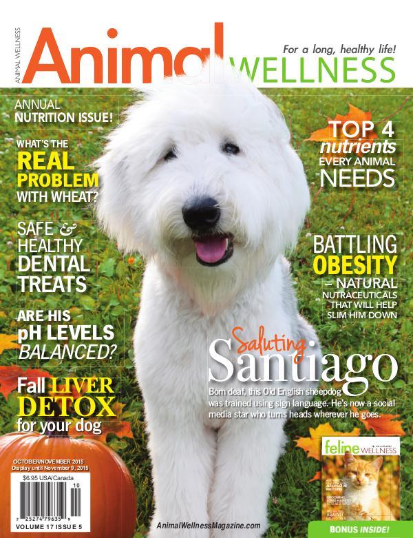 Animal Wellness Magazine Oct/Nov 2015