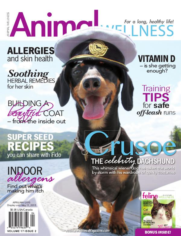 Animal Wellness Magazine Apr/May 2015