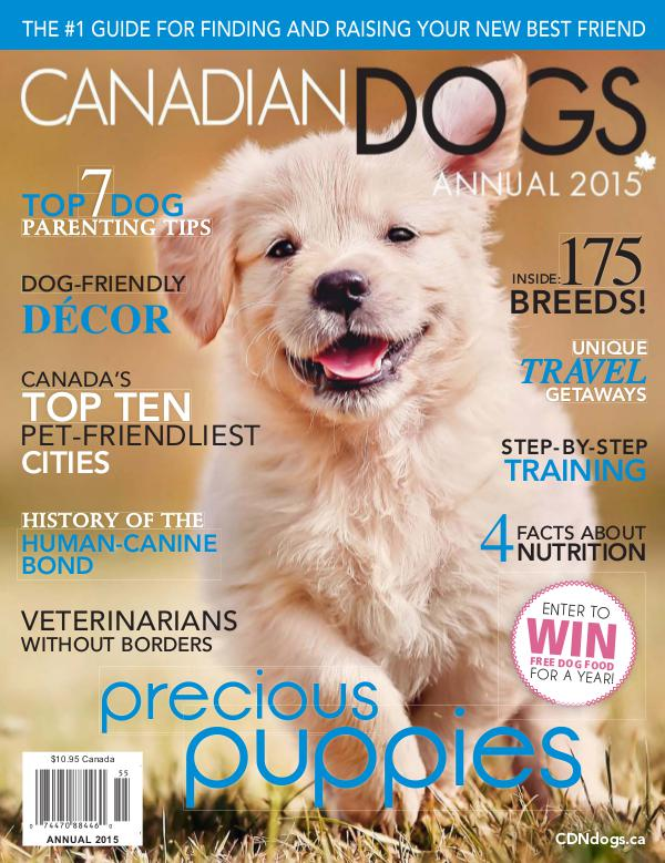 Canadian Dogs Annual 2015