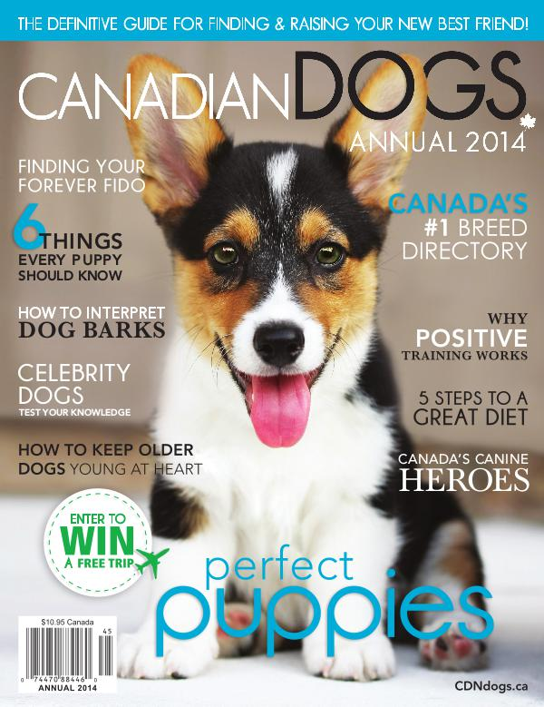 Canadian Dogs Annual 2014