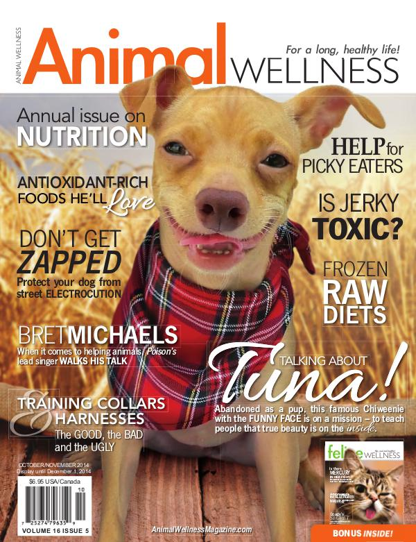 Animal Wellness Magazine Oct/Nov 2014