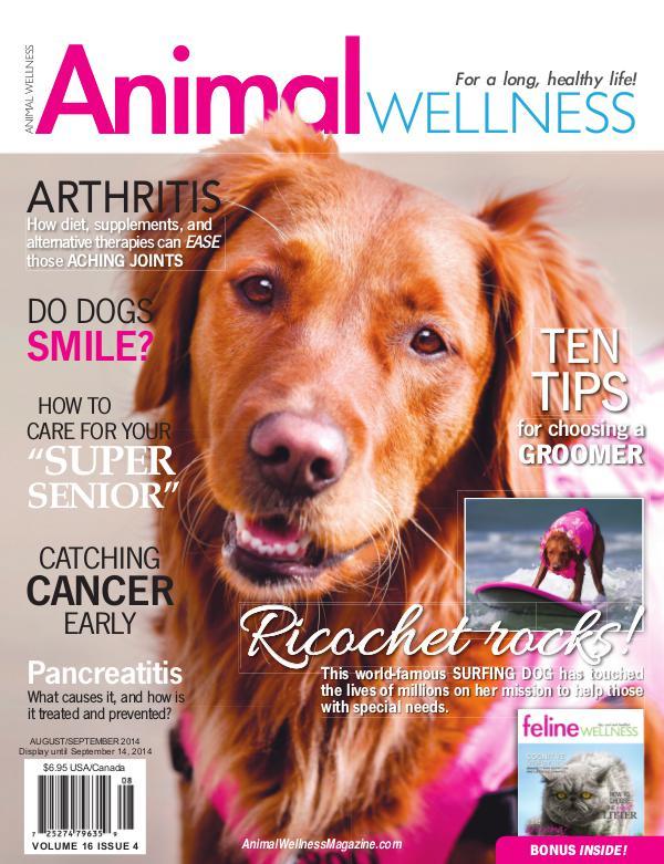 Animal Wellness Magazine Aug/Sept 2014