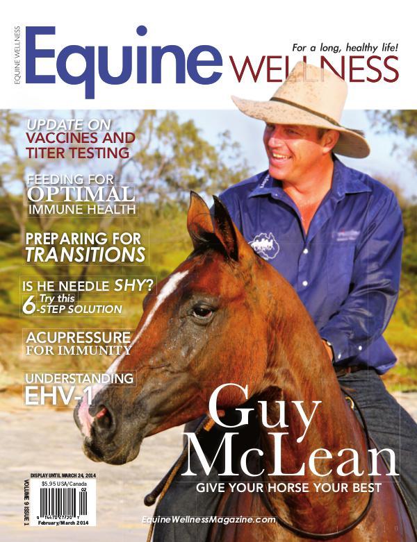 Equine Wellness Magazine Feb/Mar 2014