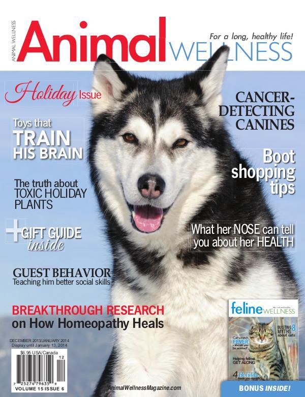 Animal Wellness Magazine Dec/Jan 2013