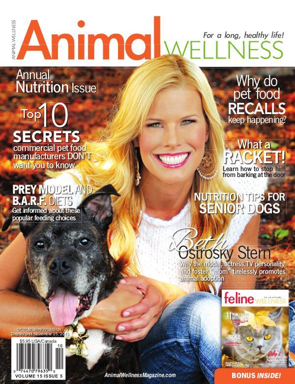 Animal Wellness Magazine Oct/Nov 2013