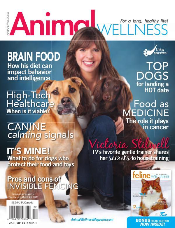 Animal Wellness Magazine Feb/Mar 2013