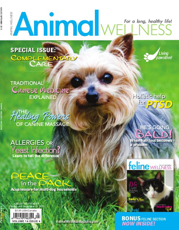 Animal Wellness Magazine Aug/Sept 2012