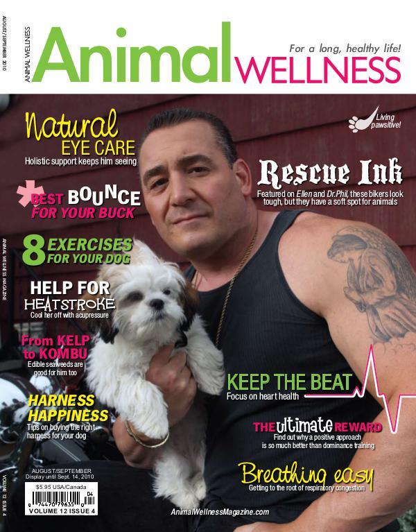 Animal Wellness Magazine Aug/Sep 2010