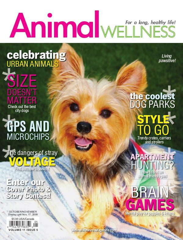 Animal Wellness Magazine Oct/Nov 2009