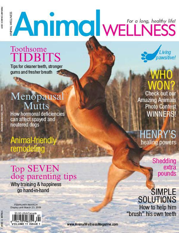 Animal Wellness Magazine Feb/Mar 2009