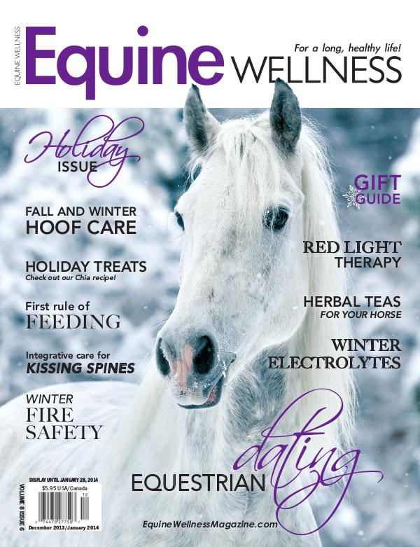 Equine Wellness Magazine Dec/Jan 2013