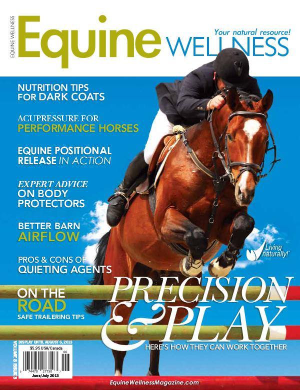 Equine Wellness Magazine Jun/Jul 2013